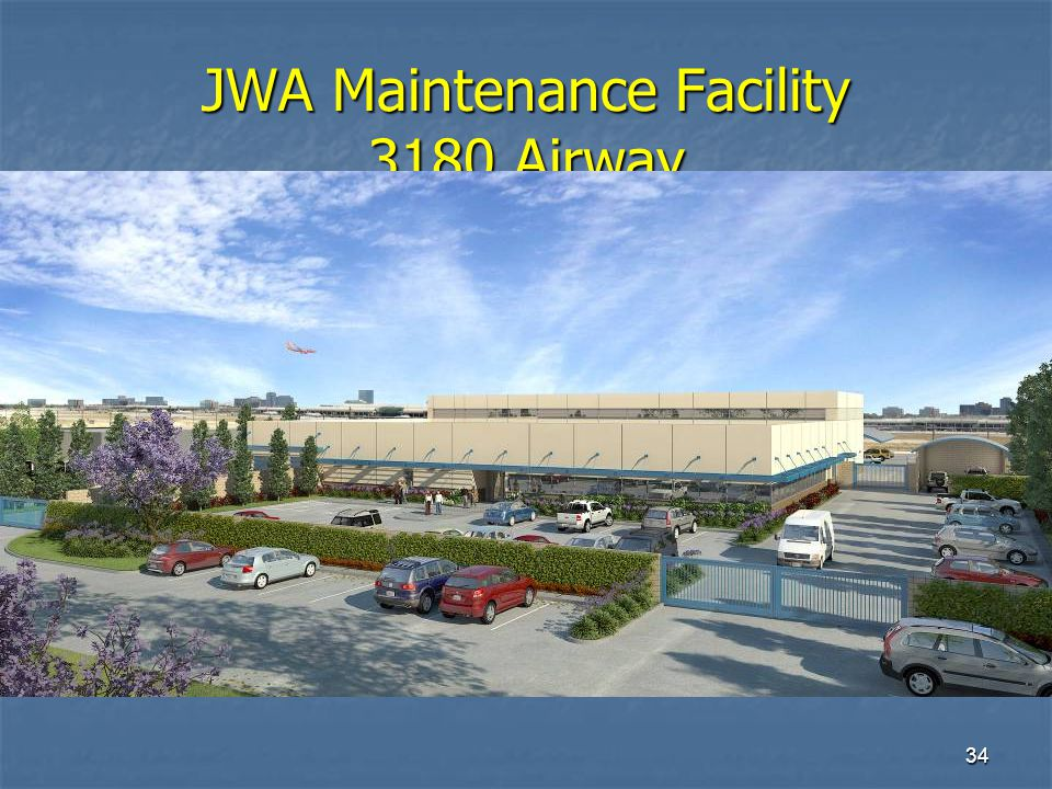 34 JWA Maintenance Facility 3180 Airway
