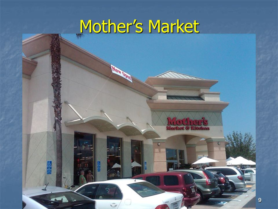 9 Mother's Market