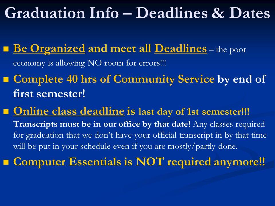 Graduation Info – Deadlines & Dates Apex – Get on Apex Recovery Apex Waitlist NOW.