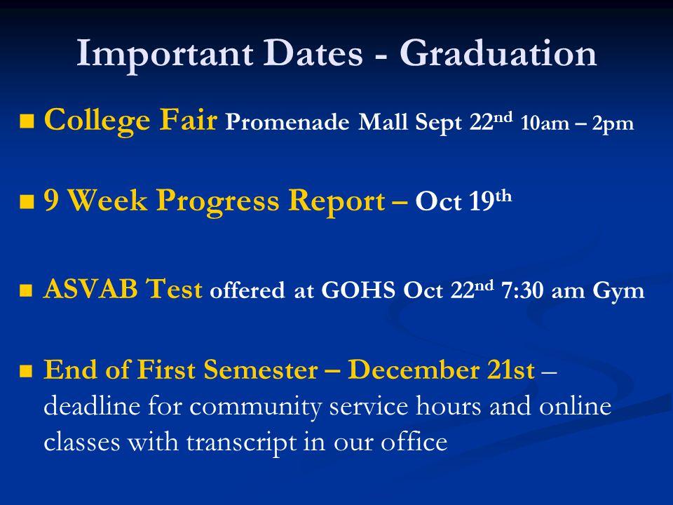 Senior Timeline September 2012  - Apex, Adult Ed Concurrent Enrollment, Extended-hour CTE/ROP courses, online courses, RVHS.