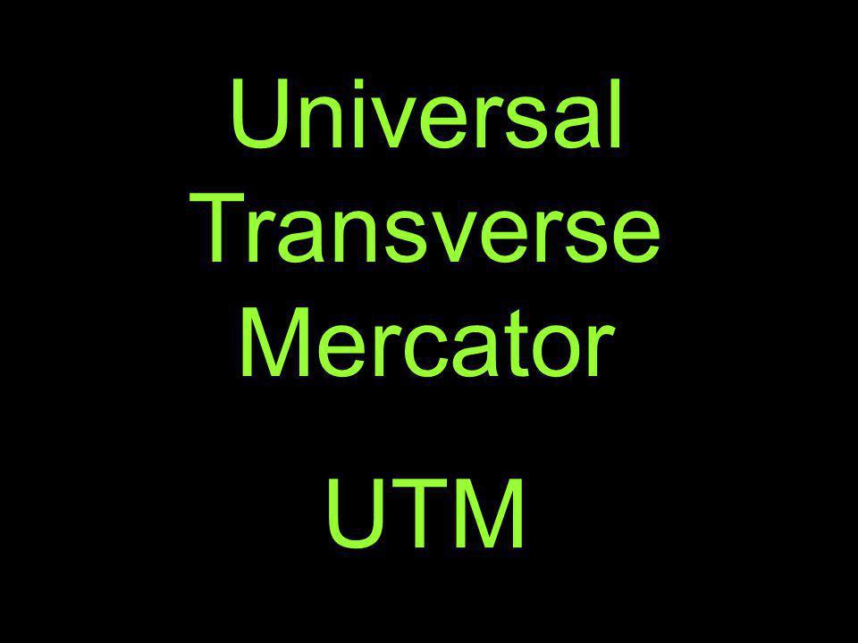 Universal Transverse Mercator UTM