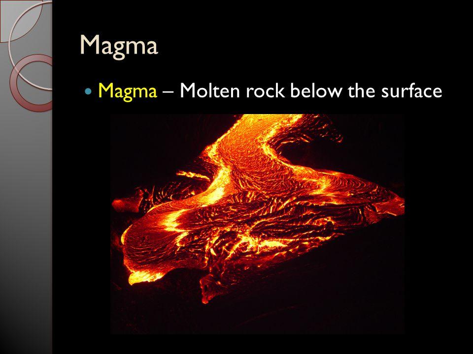 Lava Lava – Molten Rock above the surface