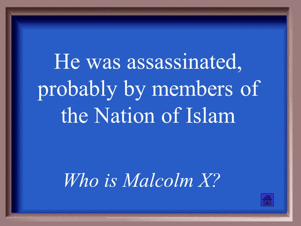 Malcolm X believed this was the proper response to violence What is violence?