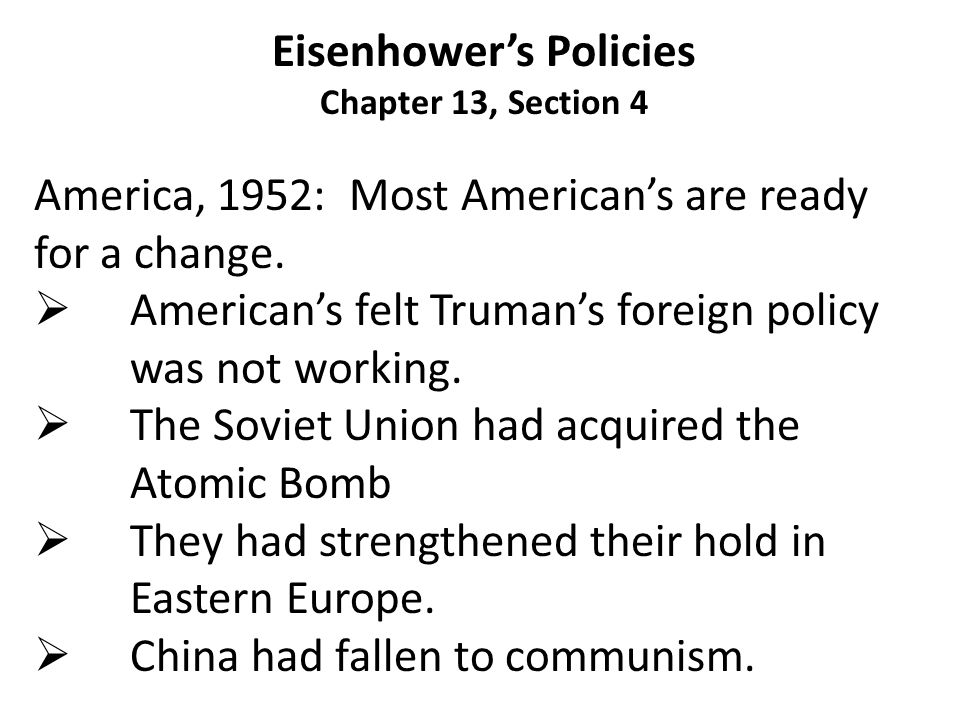  Eisenhower claimed that what the Soviets had shot down was a weather plane that had strayed off course.