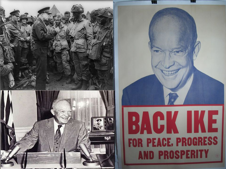 Eisenhower and the Bomb: Eisenhower believed –  The key to winning the Cold War was having a strong economy and prosperity.