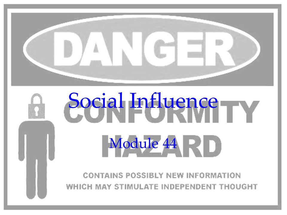 170 Social Influence Module 44