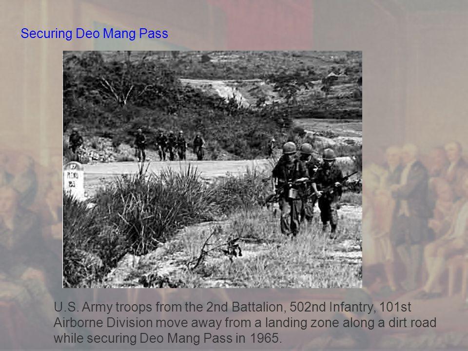 Securing Deo Mang Pass U.S.