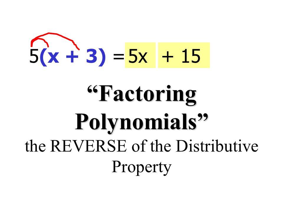 Ex 10 Factor: 16x(x 5 - 2x 4 - 3)