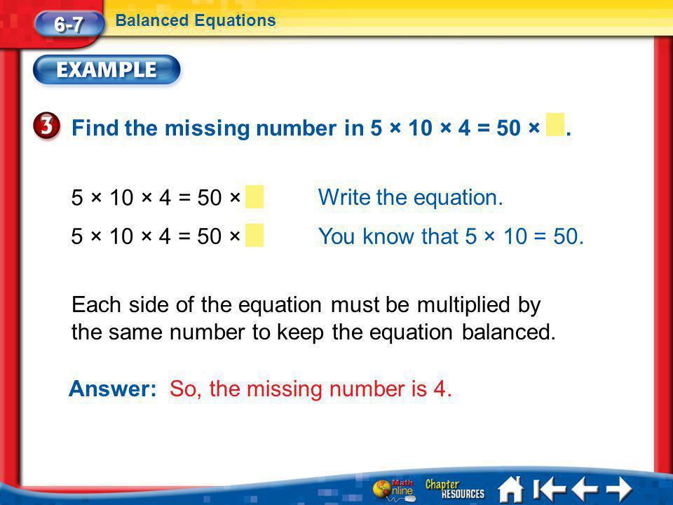 Lesson 7 Ex3 Write the equation.
