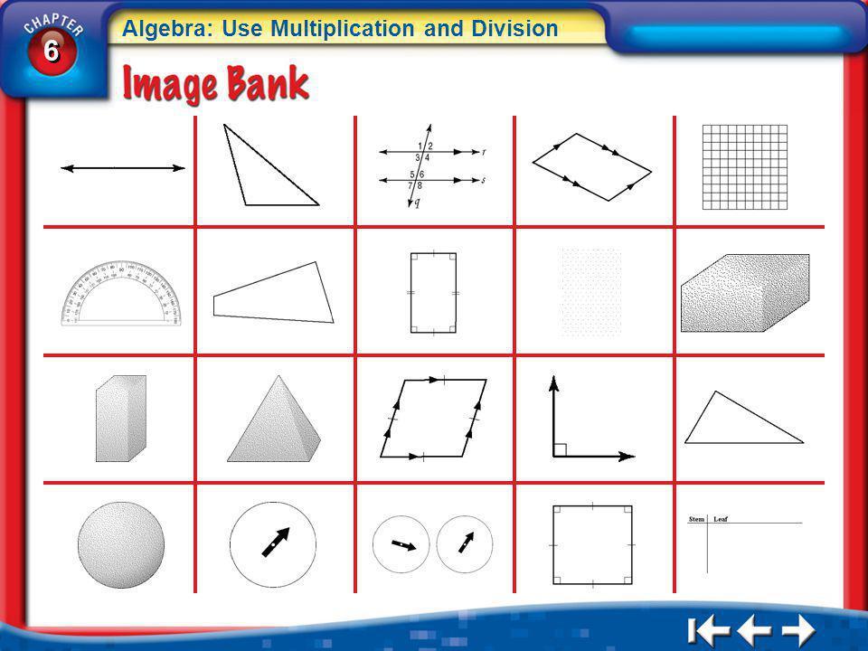 6 6 Algebra: Use Multiplication and Division IB 2