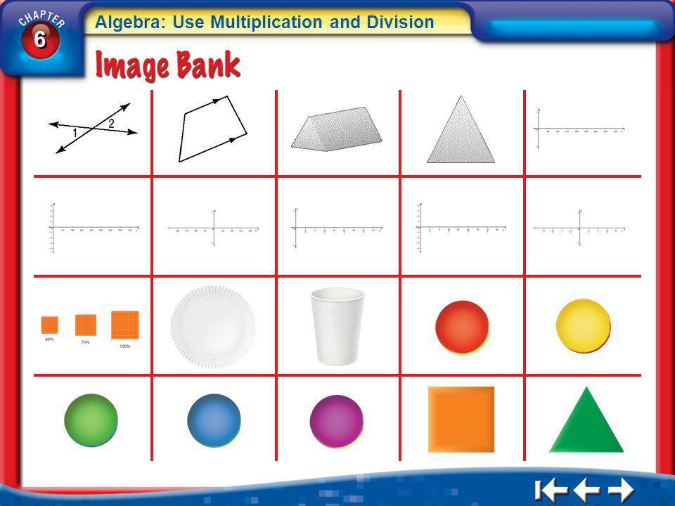 6 6 Algebra: Use Multiplication and Division IB 3