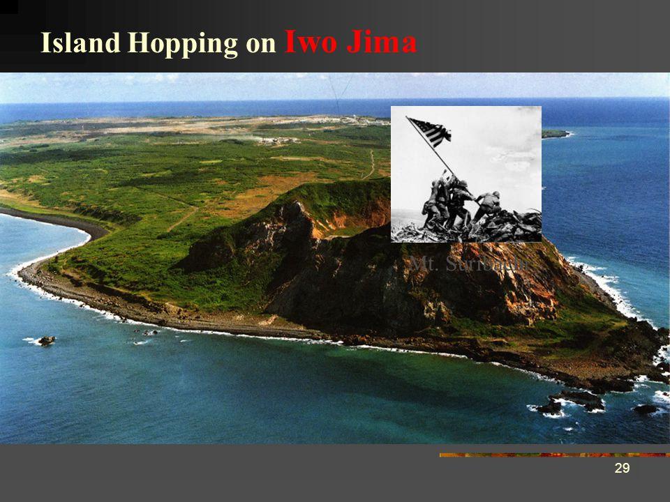 29 Mt. Suribachi Island Hopping on Iwo Jima