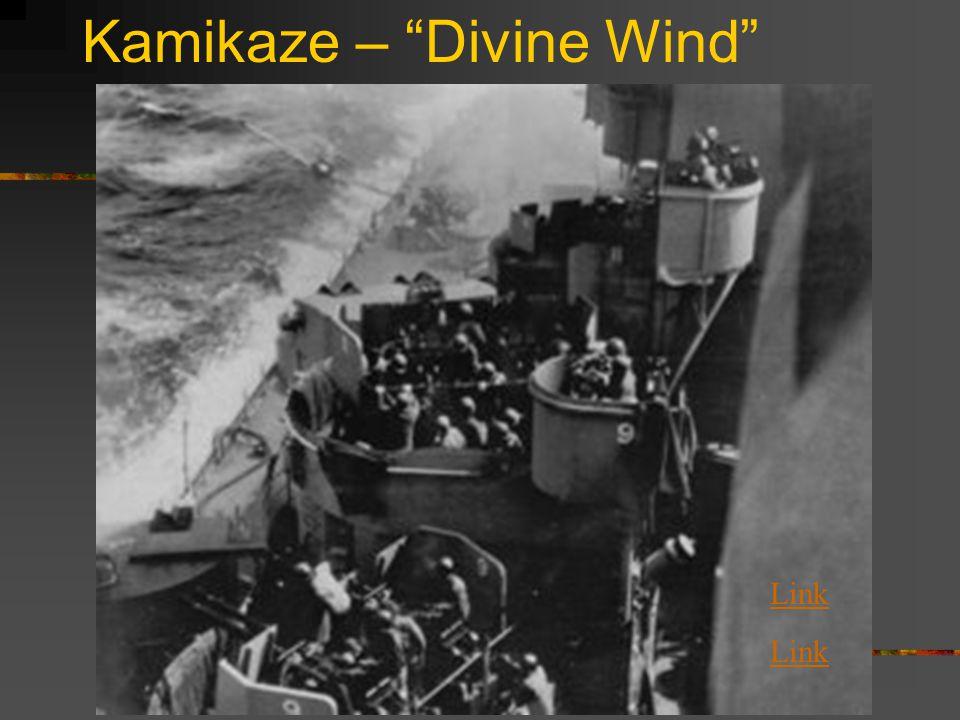 Kamikaze – Divine Wind Link