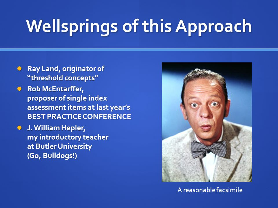 Proceed from these assumptions..Psychology is not just built from concepts; it has now run amok.