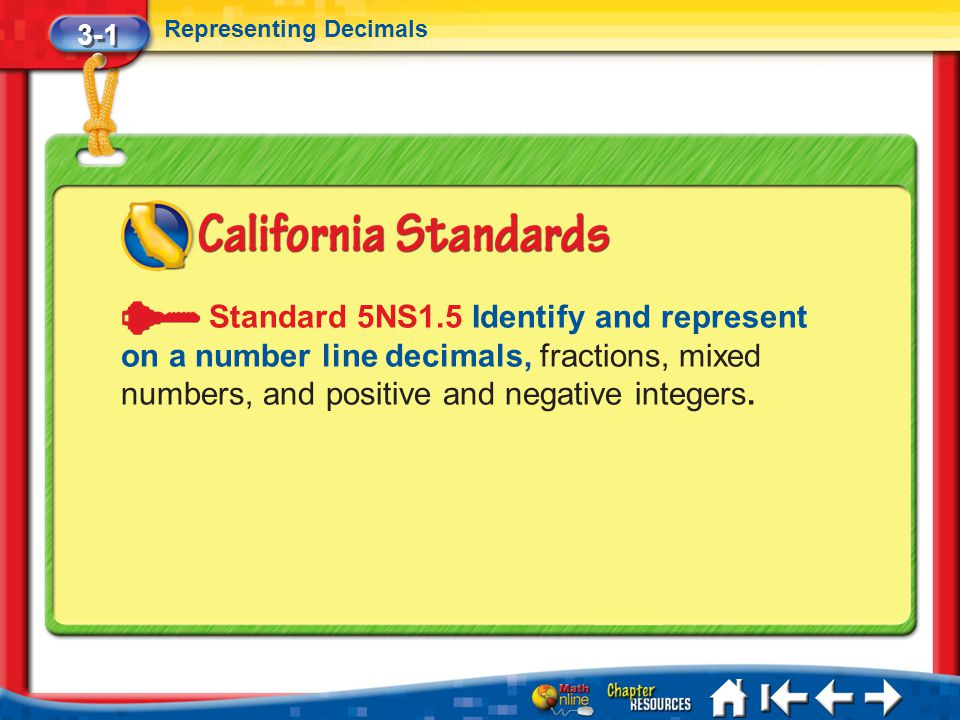 3 3 Adding and Subtracting Decimals 5Min 3-2 (over Lesson 3-2) Use >, <, or = to compare 11,943,549 11,754,106.
