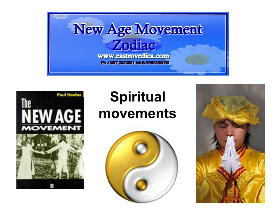 Spiritual movements