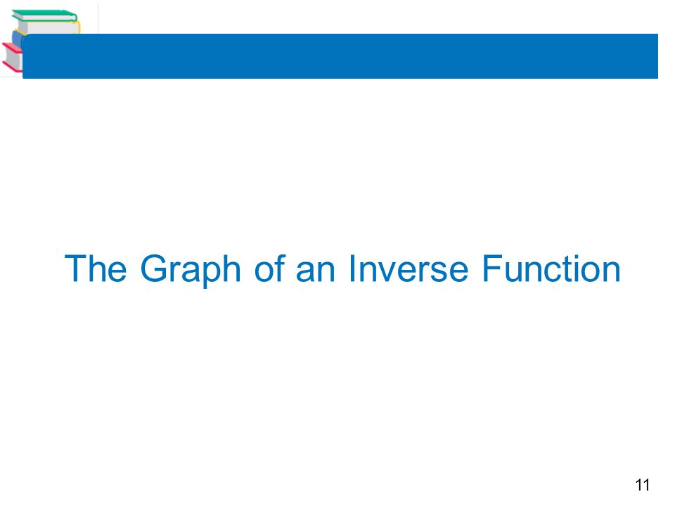 11 The Graph of an Inverse Function