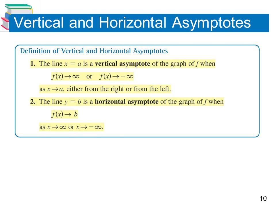 10 Vertical and Horizontal Asymptotes