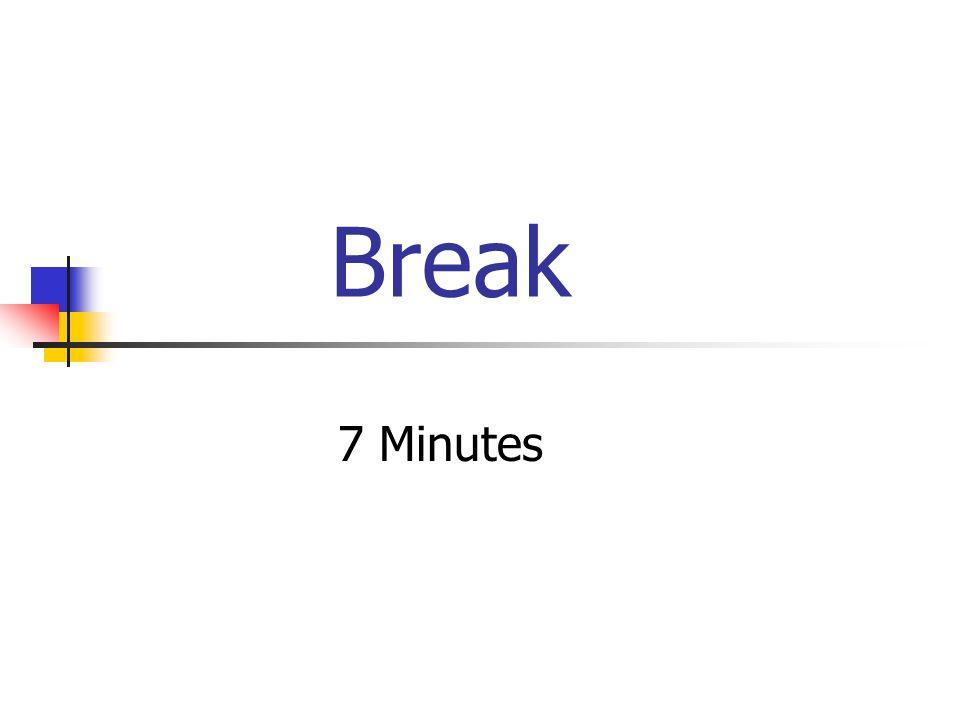 Break 7 Minutes