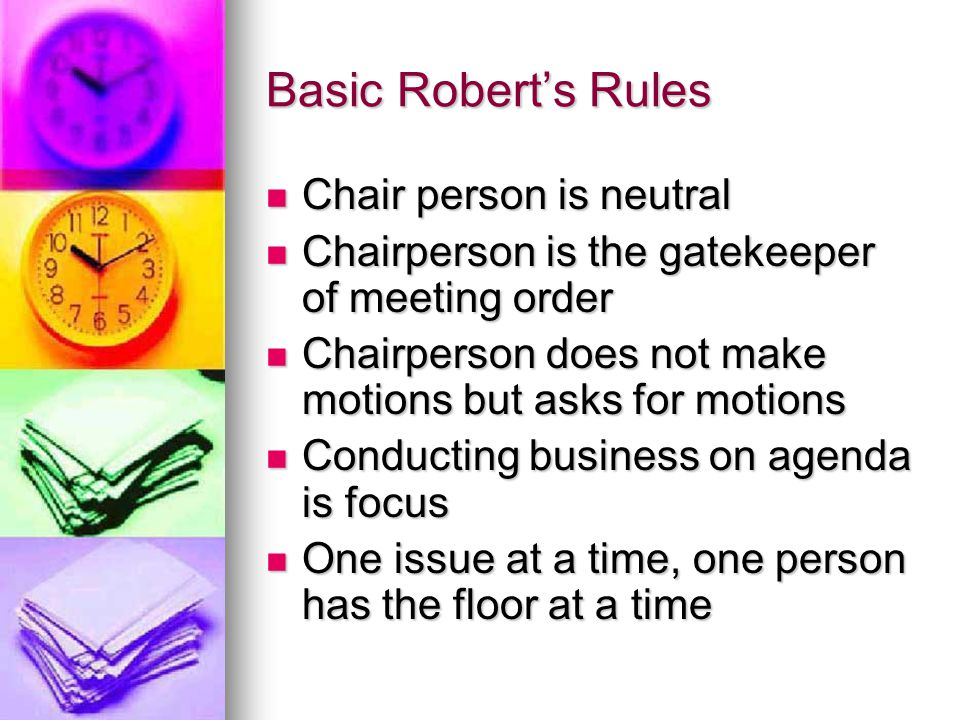 Discuss and choose the best answer Parent Chairpersons can use the following to help build trust: Parent Chairpersons can use the following to help build trust: 1.