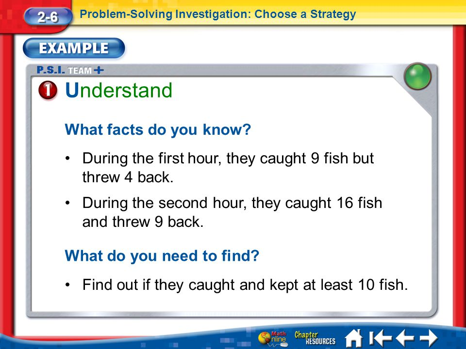 Lesson 6 Ex1 Understand What facts do you know.