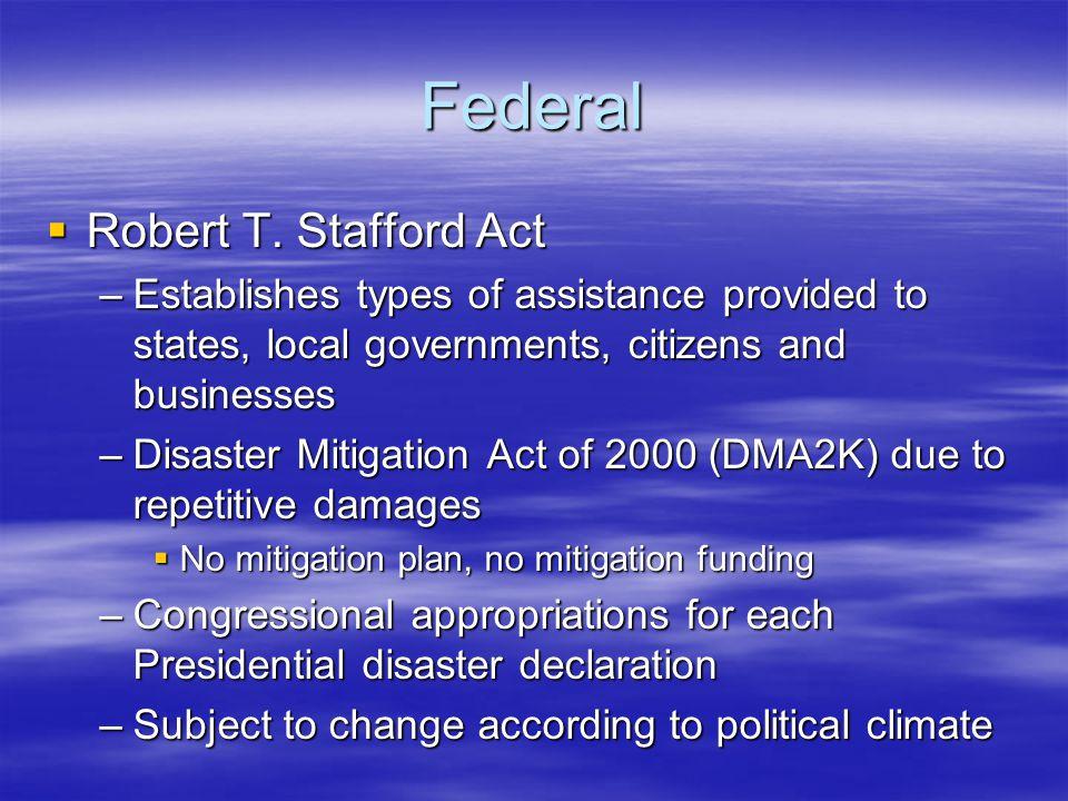 Federal  Robert T.