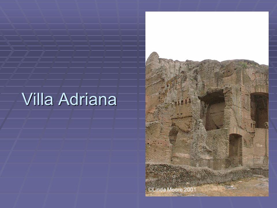 Villa Adriana ©Linda Moore 2001