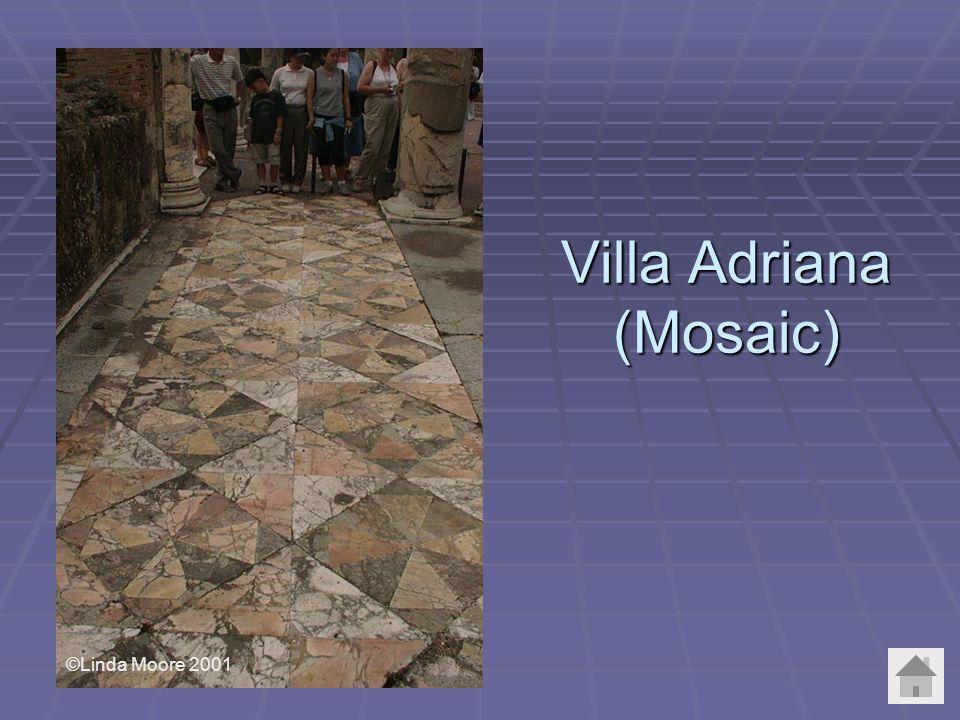 Villa Adriana (Mosaic) ©Linda Moore 2001