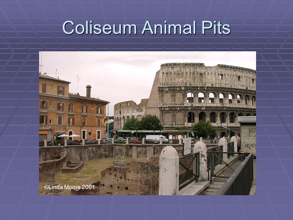 Coliseum Animal Pits ©Linda Moore 2001