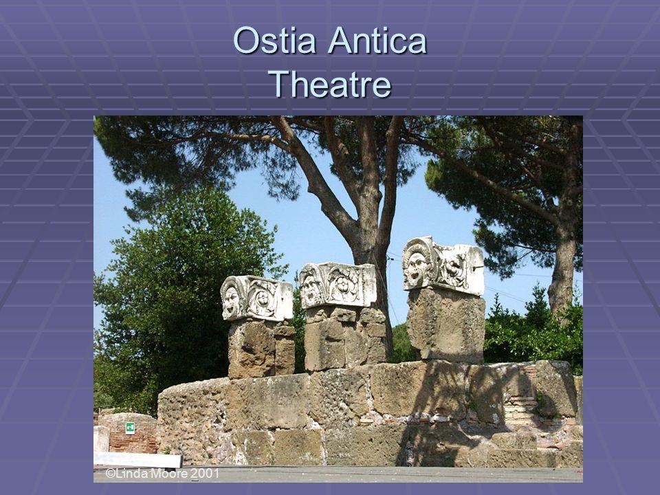 Ostia Antica Theatre ©Linda Moore 2001