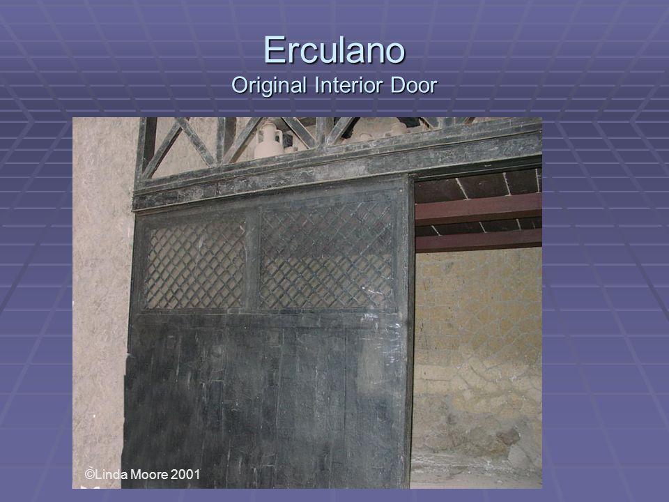 Erculano Original Interior Door ©Linda Moore 2001