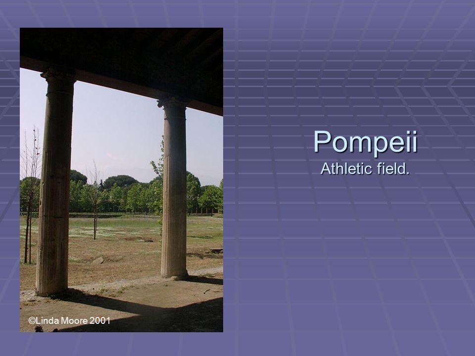 Pompeii Athletic field. ©Linda Moore 2001