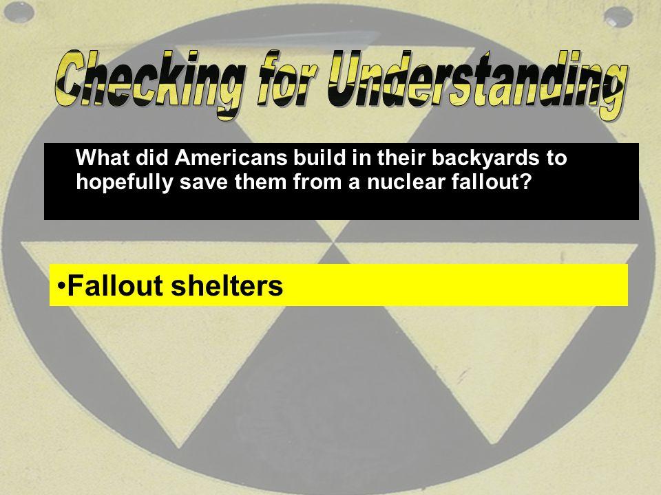 117 The Scenario: Nuclear war has been declared.