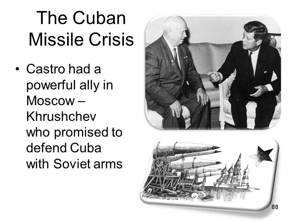 87 Soviet response. Don't worry comrade Castro. We got your back!