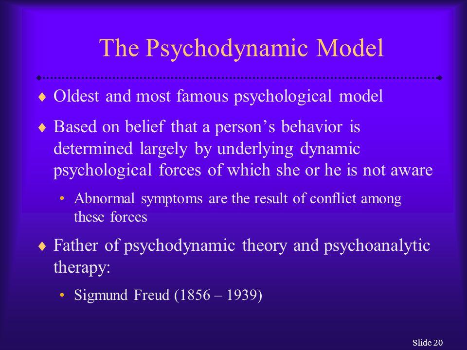 Slide 21 How Did Freud Explain Normal and Abnormal Behavior.