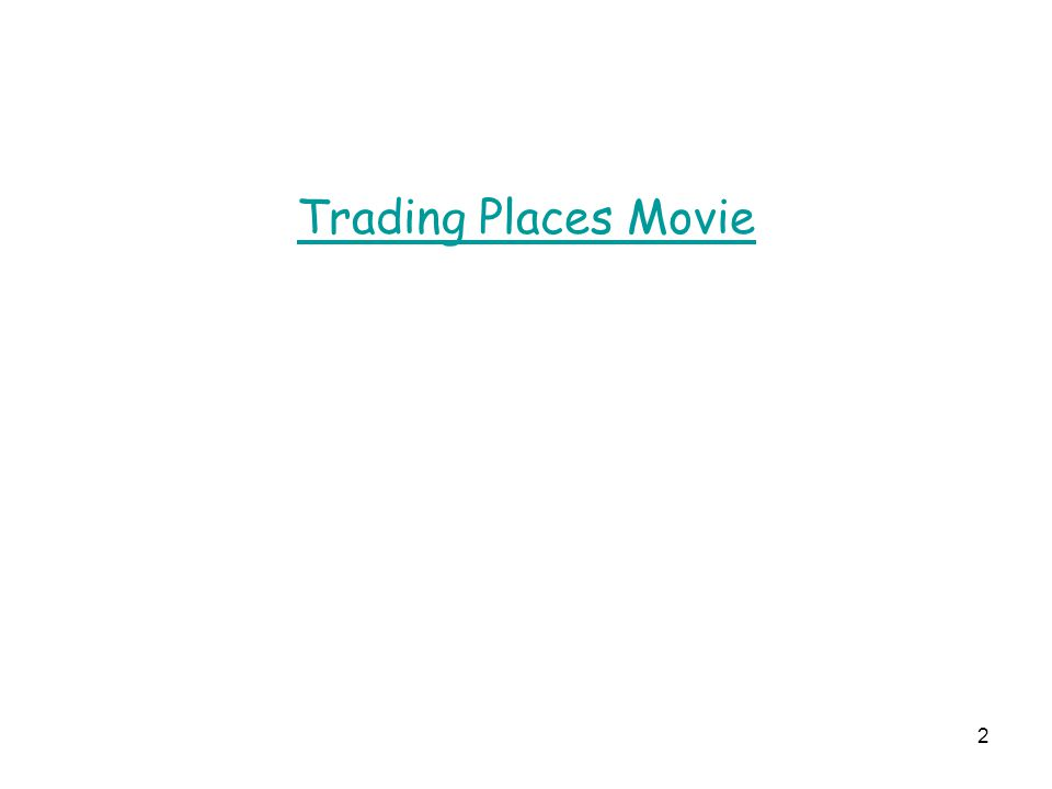 2 Trading Places Movie