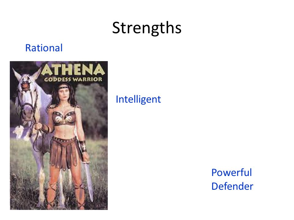 Athena's Deeds Athena and Poseidon (the god of the sea) once competed for the naming of Athens.