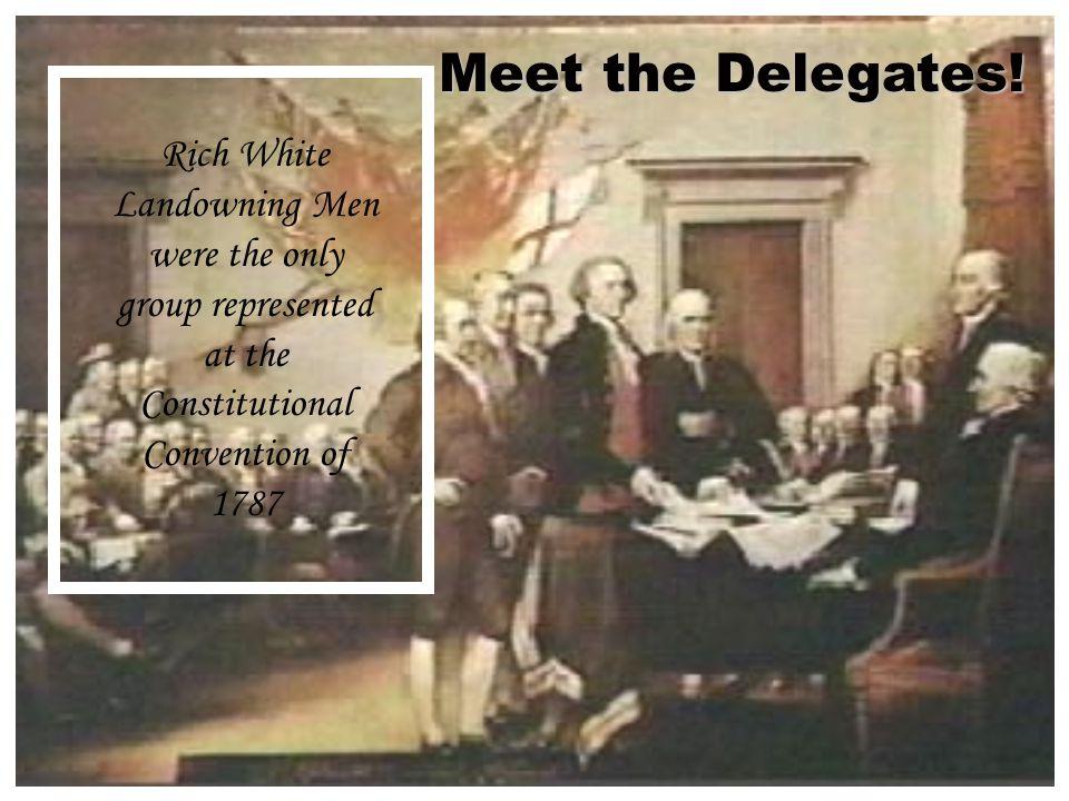Meet the Delegates.