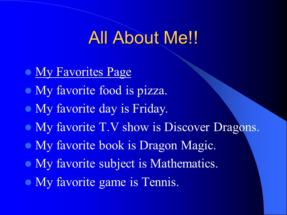 All About Me!.My Name Breanna. Brings people laughter.