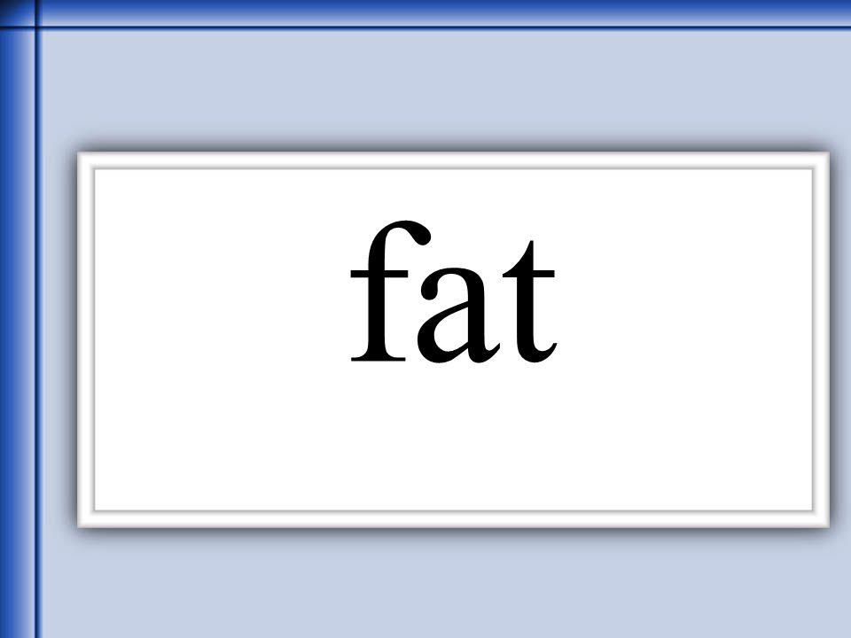 Thornton 2006 fat