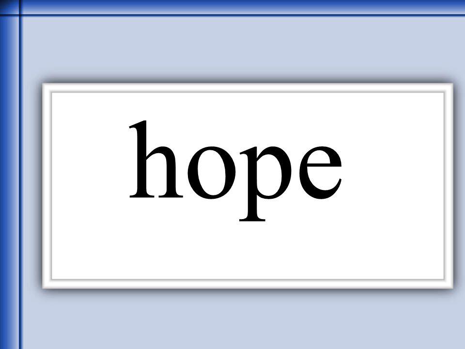 Thornton 2006 hope