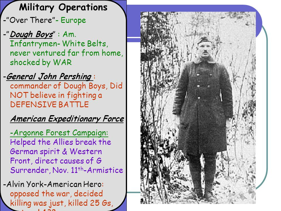 Military Operations - Over There - Europe - Dough Boys : Am.