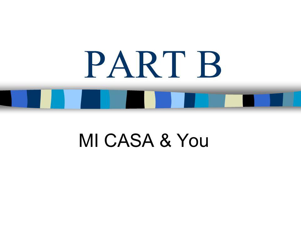 PART B MI CASA & You