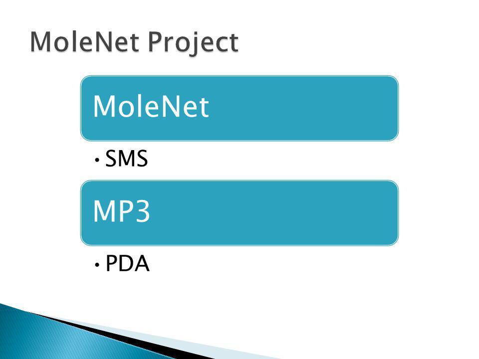 MoleNet SMS MP3 PDA