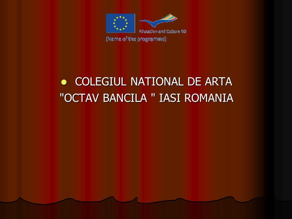 OCTAV BANCILA - WHO GAVE THE NAME OF THE SCHOOL