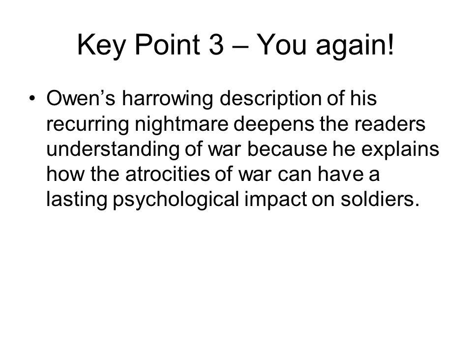 Key Point 3 – You again.