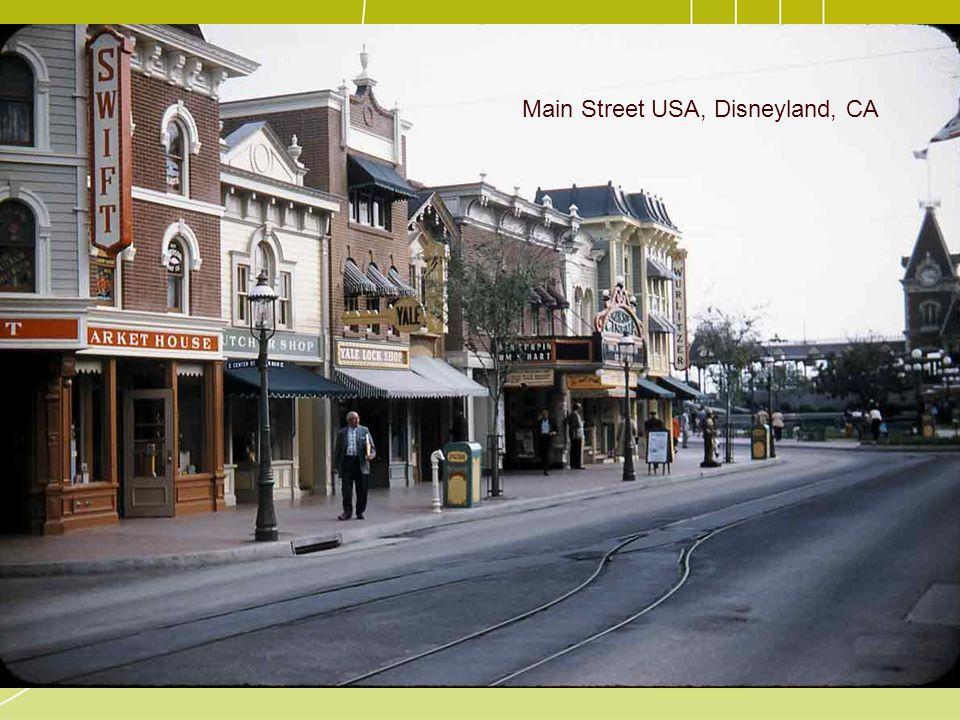 Main Street USA, Disneyland, CA