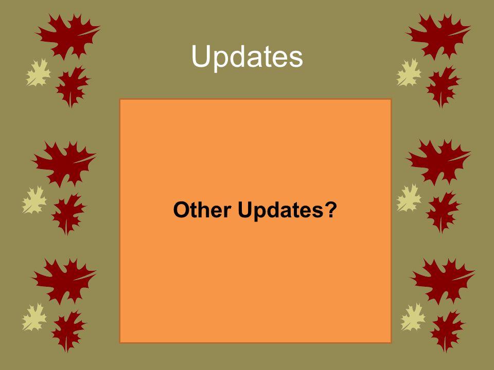 Updates Other Updates?
