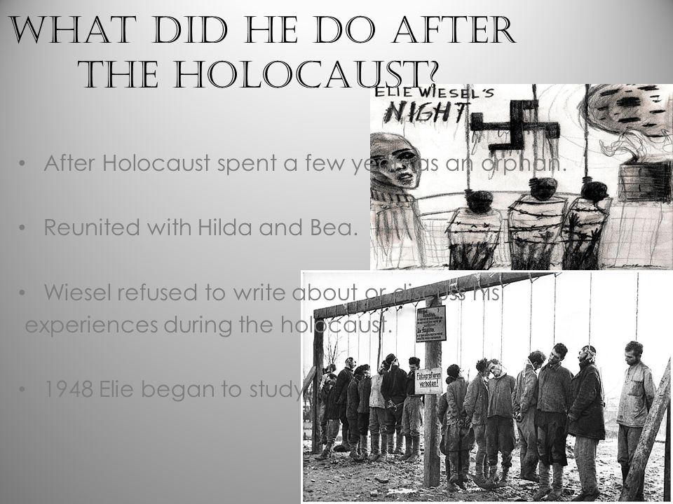 Where was Elie Wiesel born/PUBLISHED HIS BOOK.