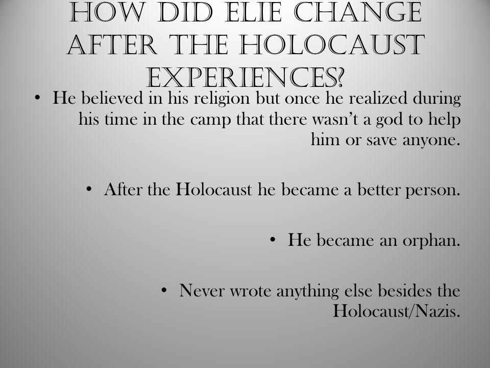 Works cited Elie Wiesel. Home.Jewish Virtual Library, n.d.